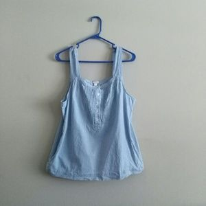J Crew Factory Chambray Tank Top - Size 12